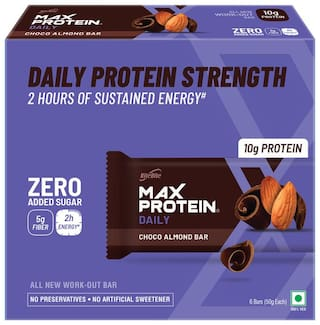 Ritebite Max Protein Daily Choco Almond Bars 300g