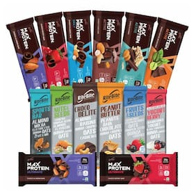 RiteBite Max Protein Assorted Pack of 14 (1 pcs of Each Variant)