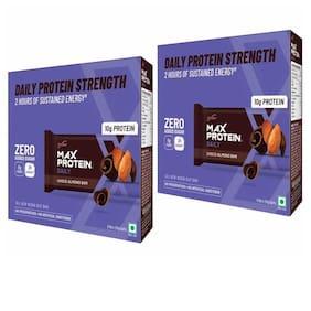 Ritebite Max Protein Daily Choco Almond Bars (50g X 6 Bar) (Pack Of 2)