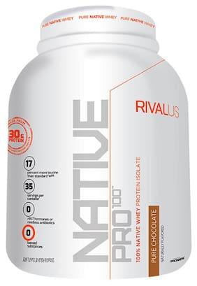 Rivalus NATIVE-PRO100 Pure Chocolate 35 servs- 1.2 kg