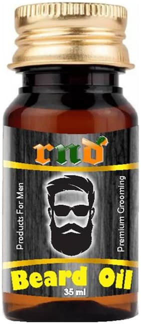 RND Beard Growth Oil For Men 100% Natural Essential Oils 35 ml