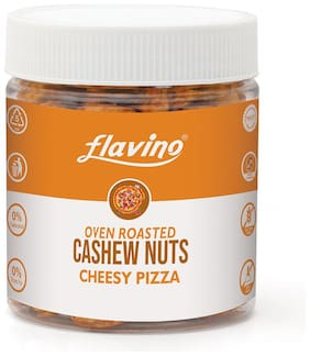 ROASTED CASHEW NUT CHEESY PIZZA - FLAVOURED KAJU FRESH DRY FRUIT Cashews  (150 g)