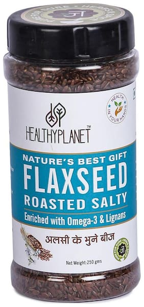 Healthy Planet Premium Roasted Flaxseed 250 g