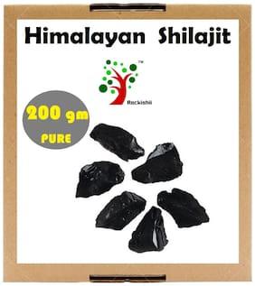 Rockishii Kashmir Himalayan Shilajit Pure & Natural 200 g