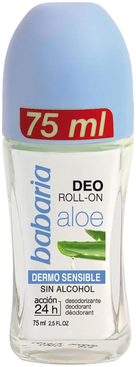 Babaria Almond Roll-On Deodorant 75 Ml