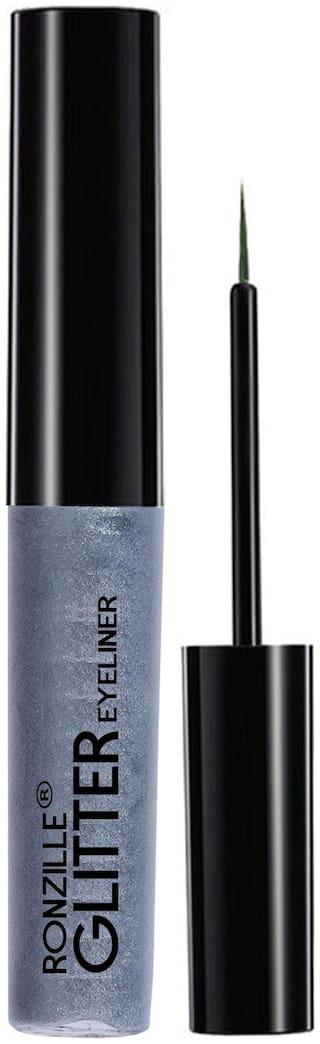 Ronzille glitter Eyeliner Silver 5ml