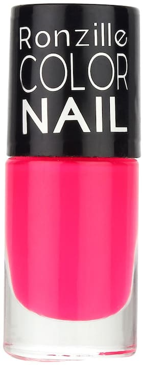 Ronzille Glossy Nail Paint 6ml Pink