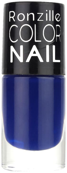 Ronzille Glossy Nail Paint 6ml Blue
