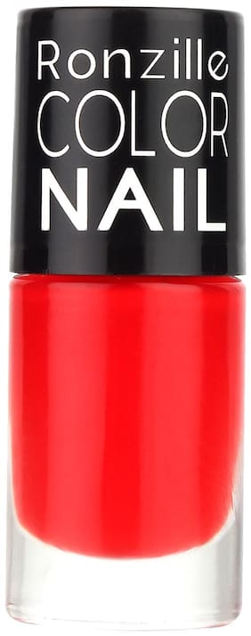 Ronzille Matte Nail Paint 6ml Red