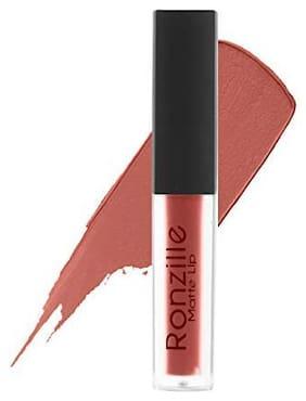 Ronzille Matte Liquid Lipstick(pink) (Bare)-6ml(Pack Of 1 )