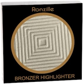 Ronzille Professional Silver Light Blusher And Highlighter Pack of 1