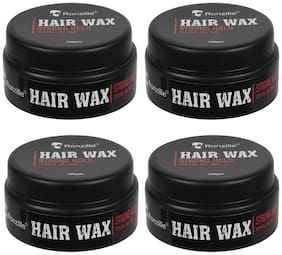 Ronzille Strong Hair Hold Wax 100 g (Pack of 4)