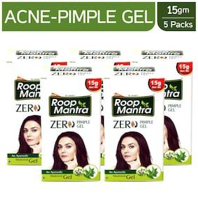 Roop Mantra Zero Pimple Gel 15 gm Pack of 5