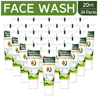 Roop Mantra Face Wash 20ml Pack Of 24