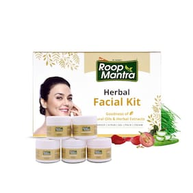 Roop Mantra Herbal Facial Kit 75g for Men & Women