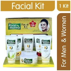 Roop Mantra Facial Kit For Men & Women Glowing Skin 180 g Pack of 1