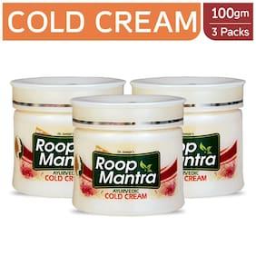 Roop Mantra Kesar Malai Cold Cream 100 gm Pack of 3