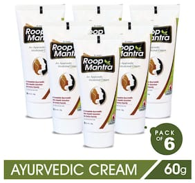 Roop Mantra Fairness Face Cream 60 g (Ayurvedic) Pack of 6