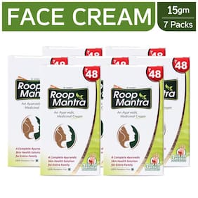 Roop Mantra Fairness Face Cream 15 gm (Ayurvedic) Pack of 7