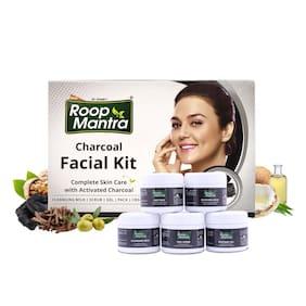 Roop Mantra Charcoal Facial Kit 75g