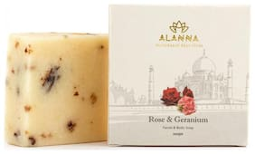 Rose & Geranium Handmade Coldprocessed Soap