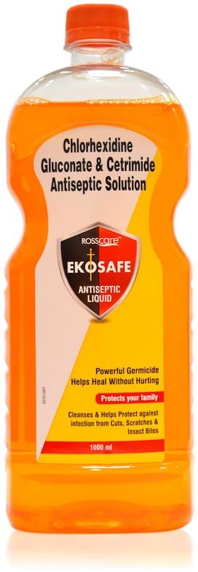 Rosscare Ekosafe Antiseptic Liquid 1 L (Pack Of 1)