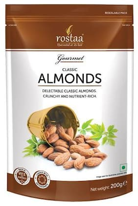 Rostaa Almonds - Classic 200 gm
