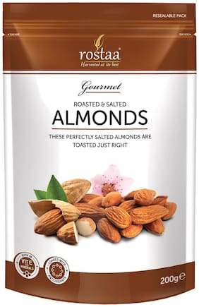Rostaa Salted Almonds 200gm