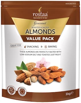 Rostaa Salted Almonds 1kg
