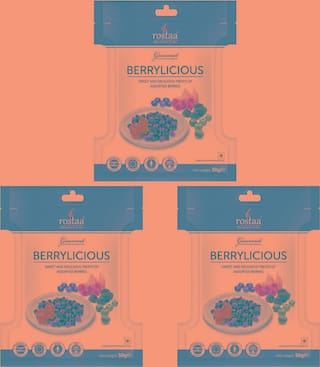 Rostaa Berrylicious 50gm Mini Pack (Combo of 3)