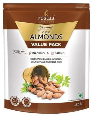 Rostaa Classic Almonds Value Pack 1kg