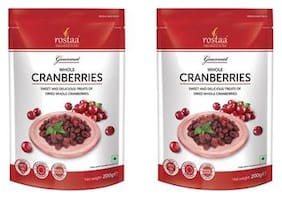 Rostaa Cranberry Whole 200gm (Pack of 2)
