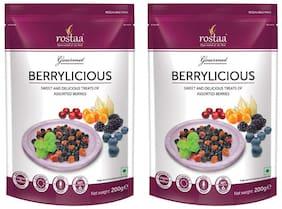 Rostaa Premium Mix Berries ( Berrylicious ) 200g ( Pack of 2 )