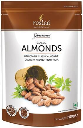 Rostaa Premium Classic Almond 1 kg (Pack of 200 g x 5)