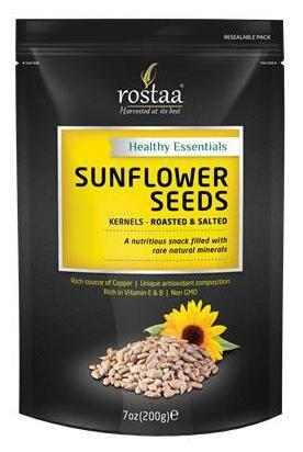 Rostaa Sunflower Seeds Kernel 200gm