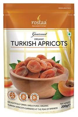 Rostaa Turkish Apricots 200gm