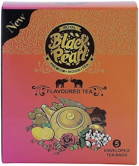 Royal Black Pearl (Heritage Blend) Lemon Black Tea - 5 Tea Bags
