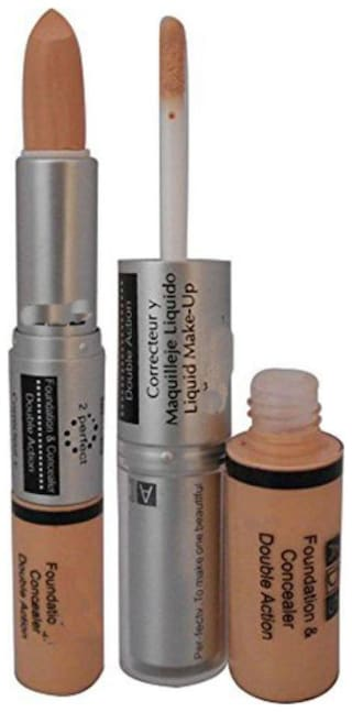 RP Ads Foundation And Concealer Double Action For Women-9ml