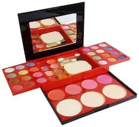 RP Color Series Makeup Kit( 24 Eye shadow;8 Lipstick;4 Blusher;3 Powder Cake;1 Mirror, 3 brush,1 Sponge)