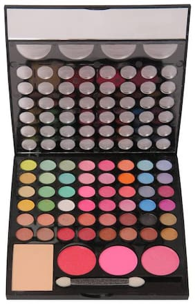 RP Makeup Kit (48 eye shadow+3 blusher+1 compact Powder+ 1 brush)