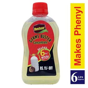 Runaway Combo Pack - White Phenyl Concentrate + Tap Cleaner 200 ml + 100 gm