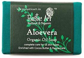 Rustic Art Aloevera Soap 100g