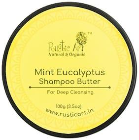 Rustic Art Mint Eucalyptus Shampoo Butter 100g