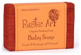 Rustic Art Organic Bathing Soap - Baby Neutral 100 g
