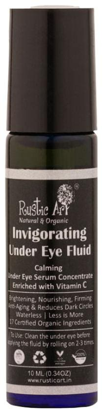 Rustic Art Organic Invigorating Under Eye Fluid 10ml