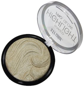 S.F.R. Color Pro Baked Glow Highlighter Palette Pack of 1
