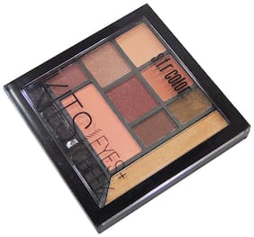 S.F.R. Color Eyes And Cheek Make Up Kit With 7 Eyeshadow 2 Highlighter Combo Palette Pack of 1