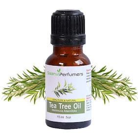 Saanvi Perfumers Tea Tree Oil 15 ml Pack Of 1