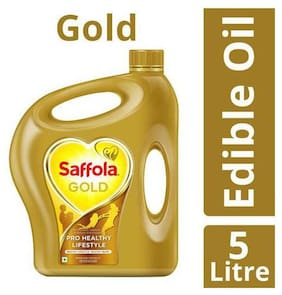 Saffola Gold Edible Oil 5 L