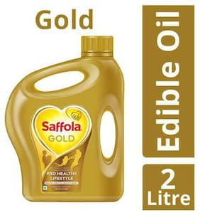 Saffola Gold Edible Oil 2 L